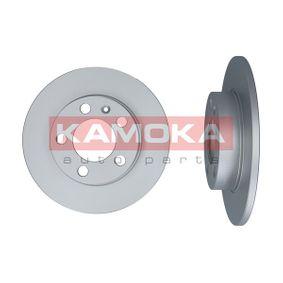 Bremsscheibe KAMOKA Art.No - 1036068 OEM: 1J0615601 für VW, AUDI, SKODA, SEAT, PORSCHE kaufen