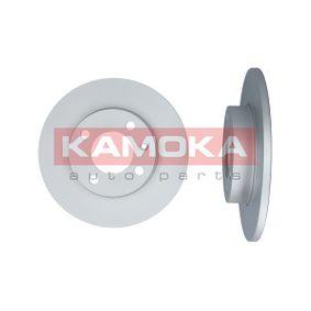 Bremsscheibe KAMOKA Art.No - 10384 OEM: 811615301 für VW, AUDI, FIAT, SKODA, SEAT kaufen