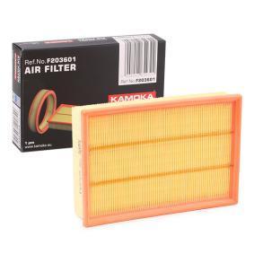 Luftfilter KAMOKA Art.No - F203601 OEM: 1L0129620 für VW, AUDI, SKODA, SEAT, CUPRA kaufen