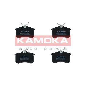 KAMOKA RENAULT SCÉNIC Bremsbeläge (JQ1011082)