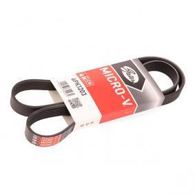 31251046 für VOLVO, Keilrippenriemen GATES (6PK1203) Online-Shop