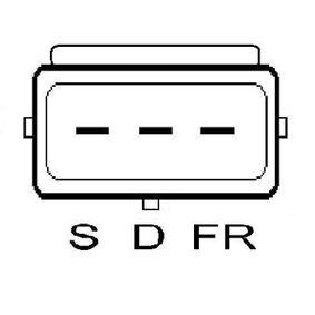 Drehstromgenerator LRB00497 LUCAS ELECTRICAL