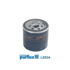 PURFLUX MAZDA 2 Oil filter (LS934)