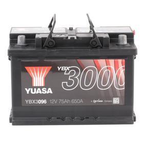 ESPACE IV (JK0/1_) YUASA Akku YBX3096