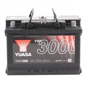 CRAFTER 30-50 Kasten (2E_) YUASA Akku YBX3096
