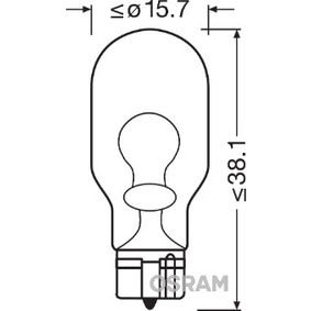 Bulb, indicator (921-02B) from OSRAM buy