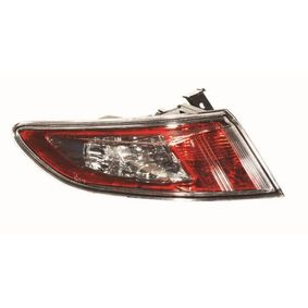 CIVIC VIII Hatchback (FN, FK) ABAKUS Tail lights 217-1979L-UE-CS