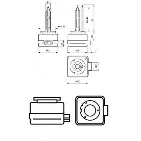 Крушка с нагреваема жичка, фар за дълги светлини 85415SYC1 онлайн магазин