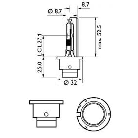 85126SYC1 Крушка с нагреваема жичка, фар за дълги светлини от PHILIPS качествени части