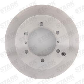 Set dischi freni SKBD-0022124 STARK