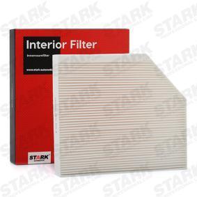 STARK Filter, Innenraumluft 8K0819439A für VW, AUDI, SKODA, SEAT, PORSCHE bestellen