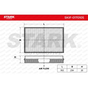 STARK Filter, Innenraumluft A9068300218 für VW, MERCEDES-BENZ, DODGE, MAYBACH bestellen
