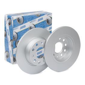 Bremsscheibe JURID Art.No - 562614JC OEM: 1K0615601AA für VW, AUDI, SKODA, SEAT, PORSCHE kaufen
