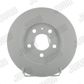 Bremsscheibe JURID Art.No - 562677JC OEM: 26300FE040 für SUBARU, BEDFORD kaufen