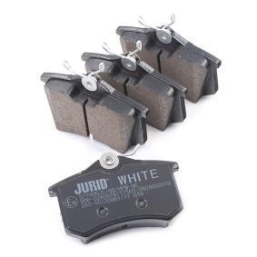 JURID Jogo de pastilhas para travão de disco JZW698451C para VW, AUDI, SEAT, SKODA compra