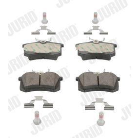 Bremseklodser JURID Art.No - 573005JC OEM: 8671016582 til RENAULT, RENAULT TRUCKS erhverv