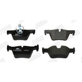 JURID Bremsbelagsatz, Scheibenbremse 34216873093 für BMW, FORD, MINI, ALPINA bestellen