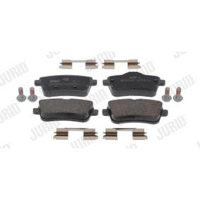 Bremsbelagsatz, Scheibenbremse JURID Art.No - 573465J OEM: 0064203420 für MERCEDES-BENZ kaufen