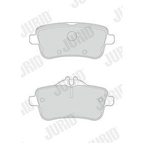 JURID Bremsbelagsatz, Scheibenbremse 0064203420 für MERCEDES-BENZ bestellen