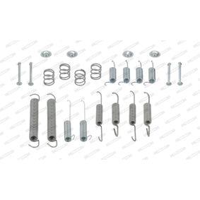 Zubehörsatz, Bremsbacken FERODO Art.No - FBA78 OEM: 701609531 für VW, AUDI, SKODA, SEAT, VAUXHALL kaufen