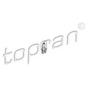 Glühlampe, Instrumentenbeleuchtung TOPRAN Art.No - 104 495 OEM: N0177512 für VW, AUDI, SKODA, SEAT, PORSCHE kaufen