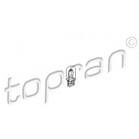 Bulb, instrument lighting (104 495) from TOPRAN buy