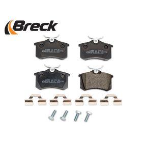 1H0698451 für VW, AUDI, FIAT, PEUGEOT, SKODA, Bremsbelagsatz, Scheibenbremse BRECK (20961 10 704 00) Online-Shop