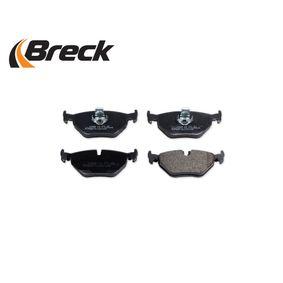 34212157591 für BMW, Bremsbelagsatz, Scheibenbremse BRECK (21691 00 702 00) Online-Shop