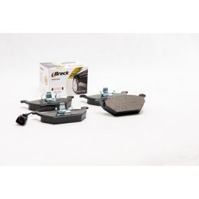 BRECK Bremsbelagsatz, Scheibenbremse JZW698151 für VW, AUDI, SKODA, SEAT, SMART bestellen