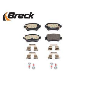 93176118 für OPEL, PEUGEOT, KIA, CHEVROLET, SAAB, Bremsbelagsatz, Scheibenbremse BRECK (23417 00 704 10) Online-Shop