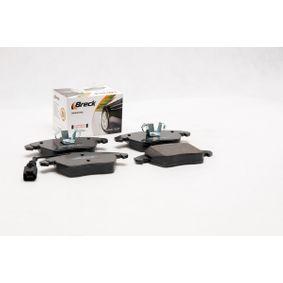 BRECK Kit de plaquettes de frein, frein à disque 3C0698151D pour VOLKSWAGEN, AUDI, SEAT, SKODA acheter