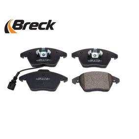 3C0698151D pour VOLKSWAGEN, AUDI, SEAT, SKODA, Kit de plaquettes de frein, frein à disque BRECK (23587 00 701 10) Boutique en ligne