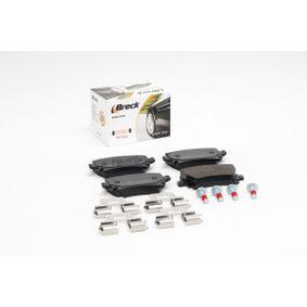 BRECK Bremsbelagsatz, Scheibenbremse 1K0698451D für VW, AUDI, FORD, SKODA, SEAT bestellen