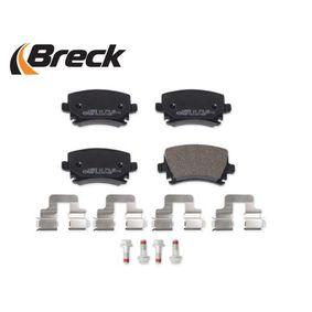 3C0698451C für VW, AUDI, SKODA, SEAT, Bremsbelagsatz, Scheibenbremse BRECK (23914 00 704 00) Online-Shop