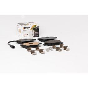 BRECK Bremsbelagsatz, Scheibenbremse 71770098 für FIAT, ALFA ROMEO, LANCIA bestellen