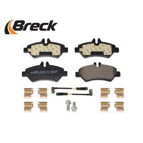 A0044206920 für VW, MERCEDES-BENZ, Bremsbelagsatz, Scheibenbremse BRECK (29190 00 703 10) Online-Shop