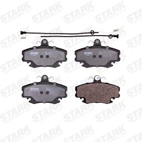 STARK SKBP-0010035 Bremsbelagsatz, Scheibenbremse OEM - 7701204833 LADA, NISSAN, PEUGEOT, RENAULT, CHEVROLET, DACIA, PIAGGIO, VALEO, RENAULT TRUCKS, AJUSA, A.B.S., FRAS-LE, STELLOX günstig
