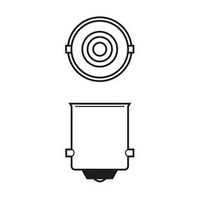 BOSCH Bulb, indicator 1 987 302 811