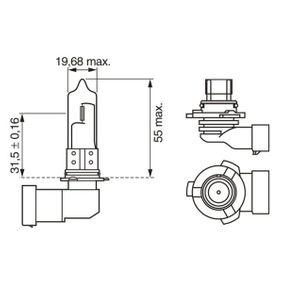 BOSCH Крушка с нагреваема жичка, фар за дълги светлини (1 987 302 807) на ниска цена
