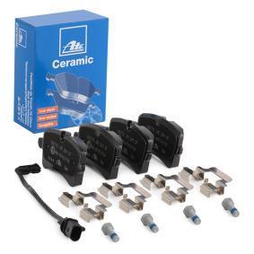 4G0698451K pour VOLKSWAGEN, AUDI, PORSCHE, Kit de plaquettes de frein, frein à disque ATE (13.0460-2770.2) Boutique en ligne