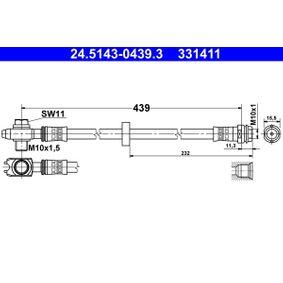 ATE Bremsschlauch 24.5143-0439.3