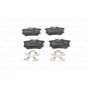 BOSCH Bremsbelagsatz, Scheibenbremse 7701209735 für RENAULT, SKODA, DACIA, SANTANA, RENAULT TRUCKS bestellen