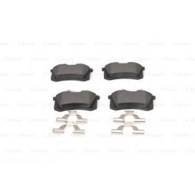 1J0698451C für VW, AUDI, FORD, SKODA, SEAT, Bremsbelagsatz, Scheibenbremse BOSCH (0 986 494 597) Online-Shop