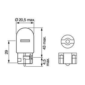 BOSCH Bulb, indicator 1 987 302 822