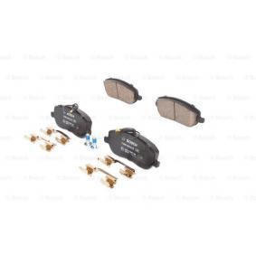 Bremsbelagsatz, Scheibenbremse BOSCH Art.No - 0 986 494 615 OEM: 77362236 für FIAT, CITROЁN, ALFA ROMEO, LANCIA, FSO kaufen