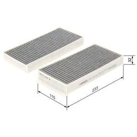 BOSCH Filter, Innenraumluft (1 987 435 538) niedriger Preis