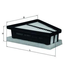 MAHLE ORIGINAL Luftfiltereinsatz (LX 2911)