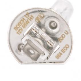 BOSCH Крушка с нагреваема жичка, фар за дълги светлини (1 987 302 801) на ниска цена
