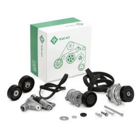 11281722789 für BMW, Wasserpumpe + Keilrippenriemensatz INA (529 0053 30) Online-Shop
