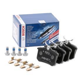 5C0698451 für VW, AUDI, SKODA, SEAT, Bremsbelagsatz, Scheibenbremse BOSCH (0 986 494 596) Online-Shop